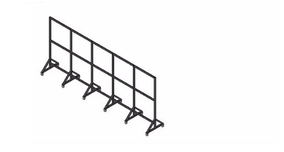 可移动围栏