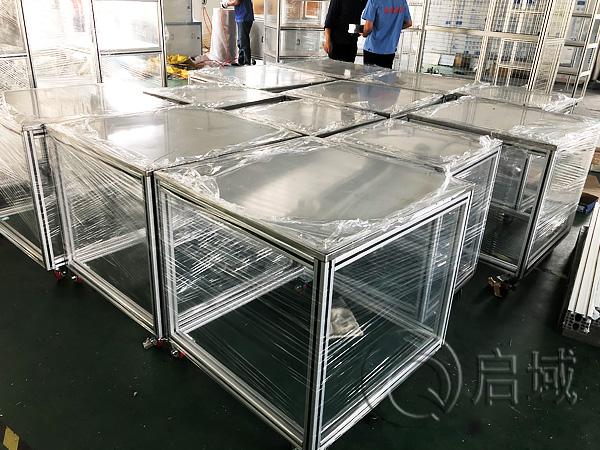 车间铝合金型材工作桌