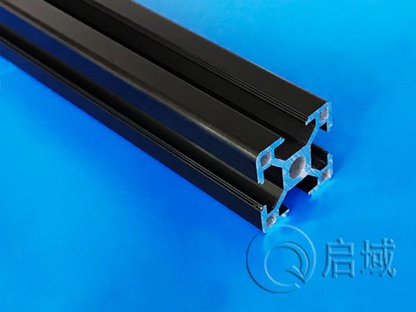 铝型材QY-8-3030黑色