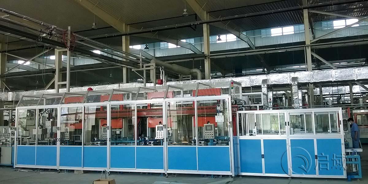 工业铝型材防护隔断