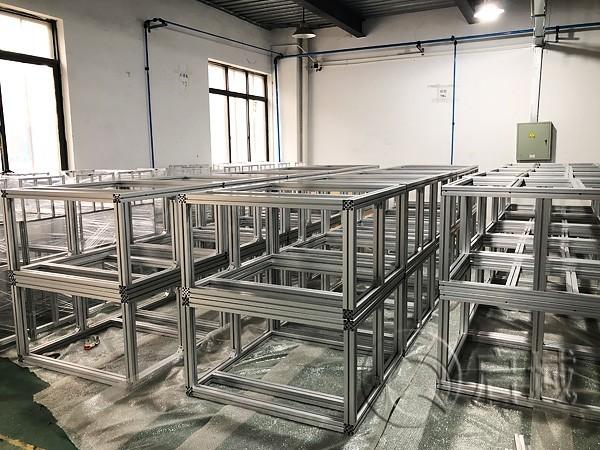 铝型材设备主框架
