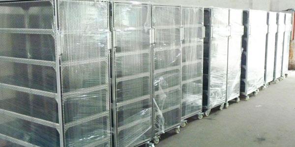 仓储面积不够可以用铝型材货架解决