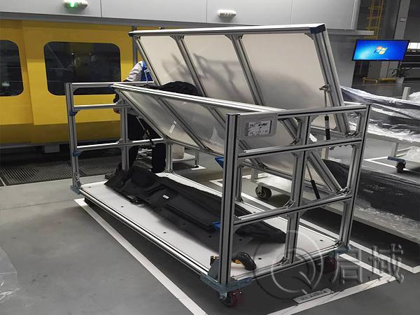 车间铝型材工具车