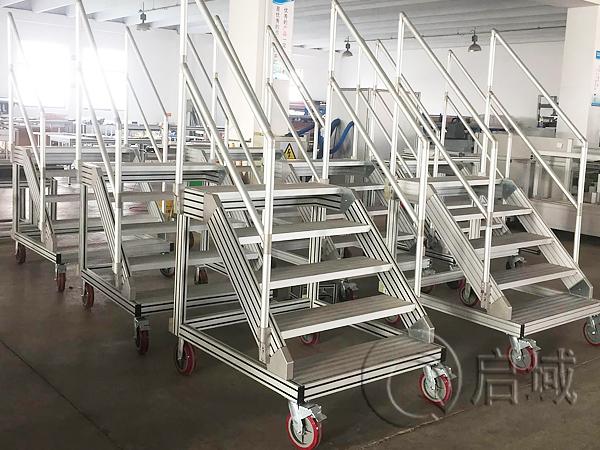 铝型材移动梯子