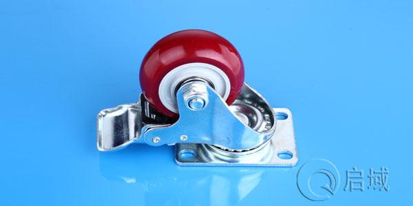 QY-平板式万向刹车脚轮