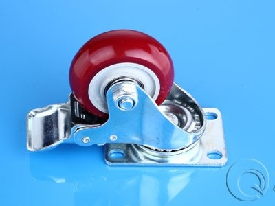 工业铝型材配件脚轮怎么安装?