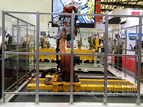 机器人铝型材围栏