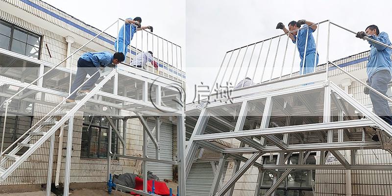 铝合金型材跨线梯