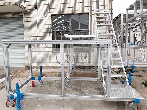 铝材工业检修踏台
