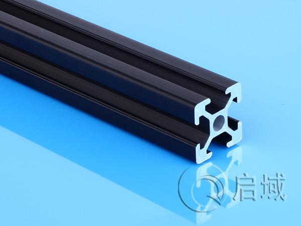 铝型材QY-6-2020黑色