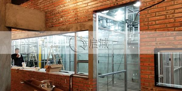 室内铝型材吊顶隔断案例