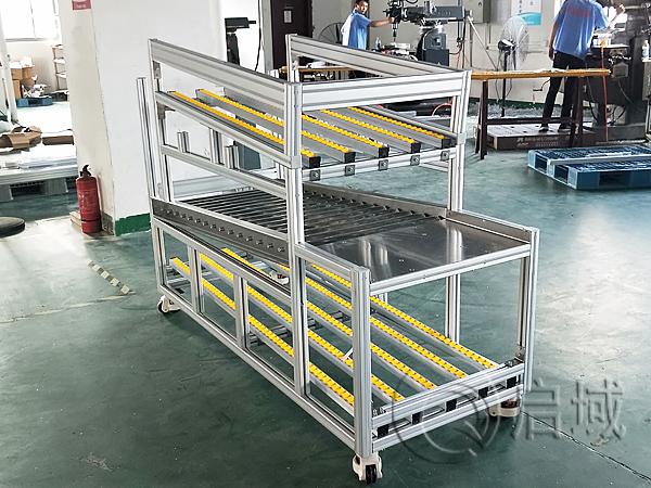 流利条铝型材工作桌