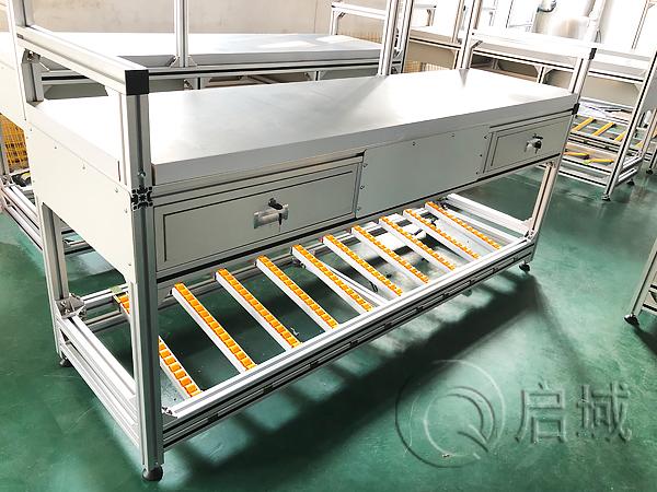 铝合金型材抽屉工作台