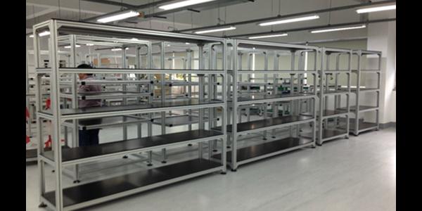 工业铝型材货架在安装的时候需要注意哪些呢?