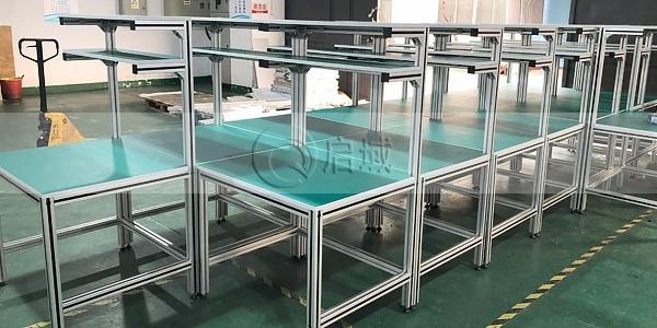 车间铝型材工作台 (2)