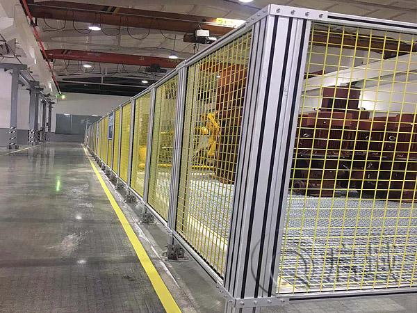 铝型材网格围栏
