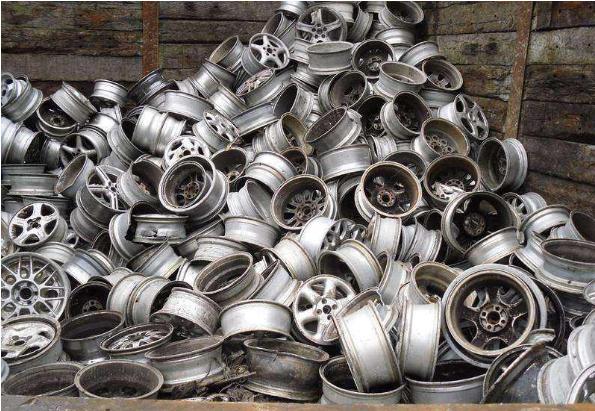 废弃铝部件