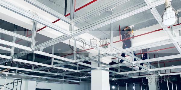 6063铝型材走线架案例分享-上海启域