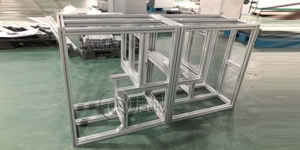 工业铝型材框架加工特点