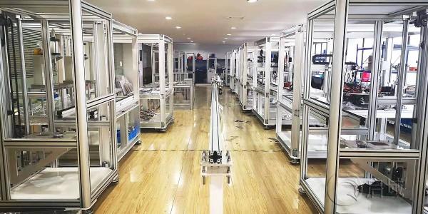 实验室设备铝材框架案例