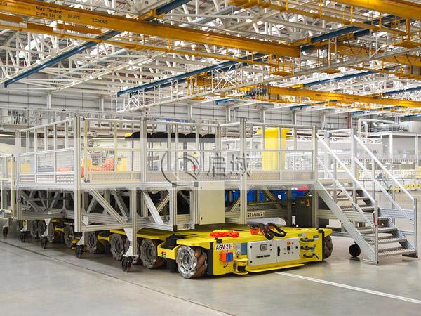 大型铝型材检修平台