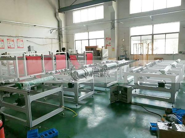 熔喷布生产线框架