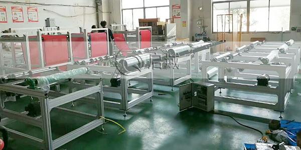 熔喷机设备框架