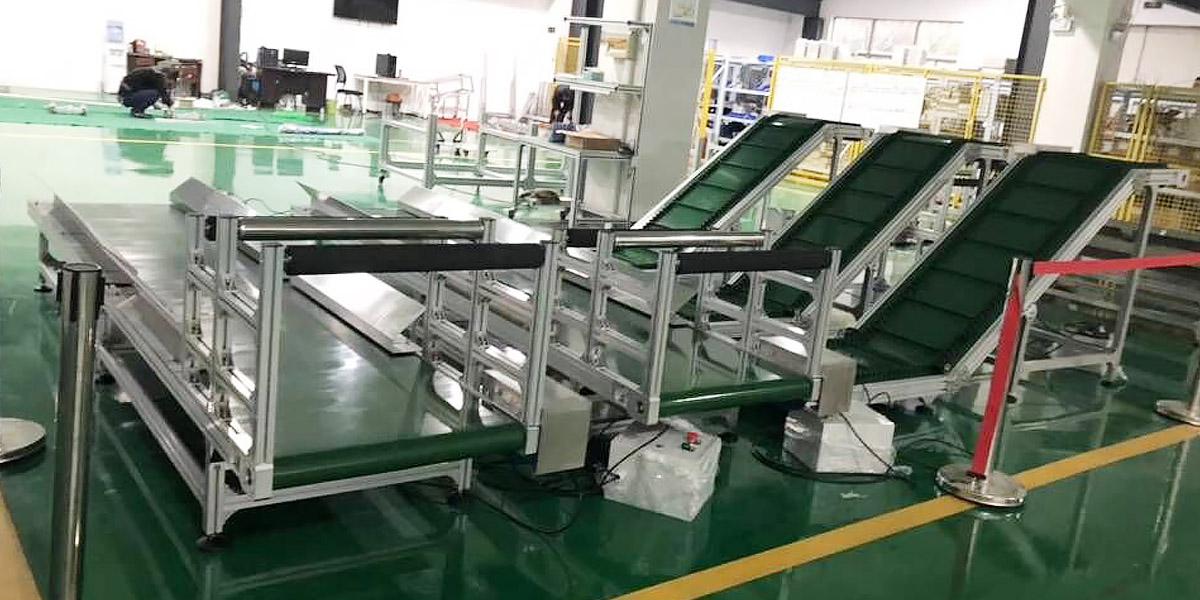 铝型材传送带应用案例