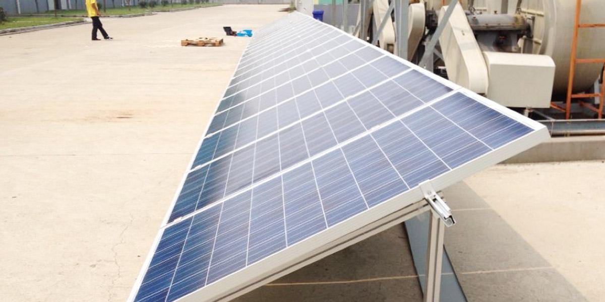 铝型材太阳能光伏支架案例
