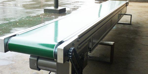 工业铝型材自动化输送线要用铝型材配件才能连接
