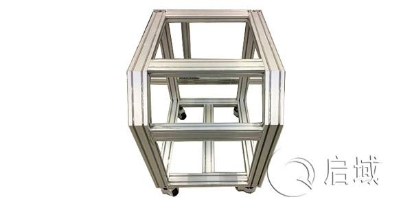 异型工业铝型材框架怎么搭建?