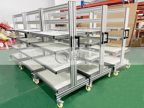 工业铝型材物料装配车