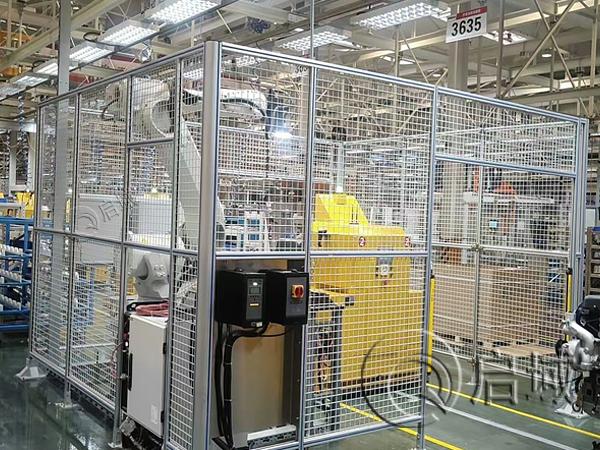 工业铝型材防护围栏