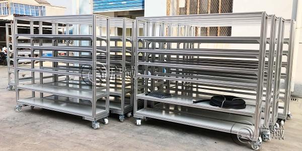 工业铝型材货架案例