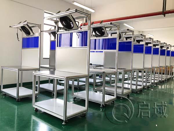 车间铝合金型材工作台