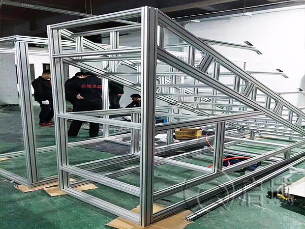 工业铝型材爬梯