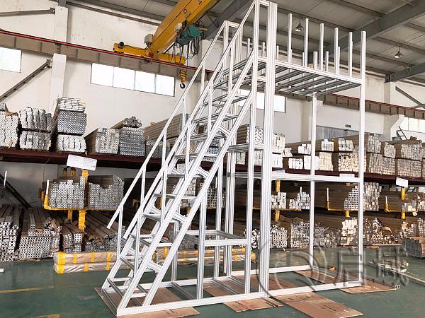 铝型材爬梯