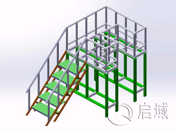 登高梯检修平台