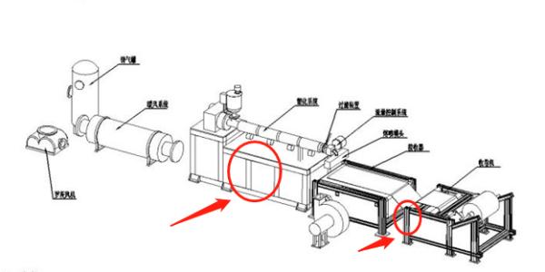 熔喷机框架铝型材