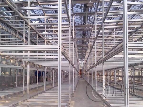培育铝型材架子