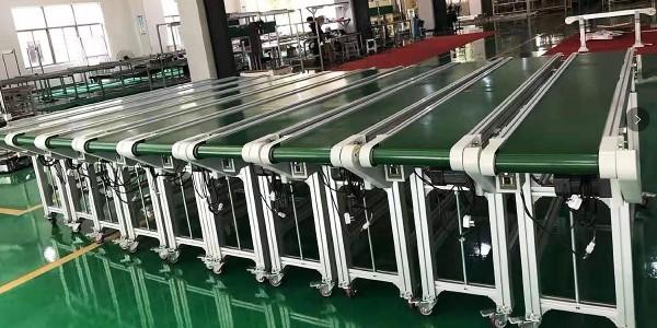 铝型材皮带输送线案例