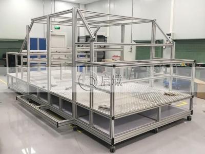汽车模型铝型材框架