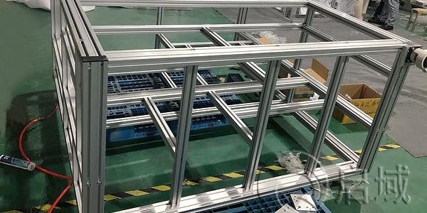 工业铝型材框架安装要求!