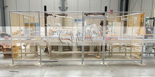 车间铝型材安全围栏案例
