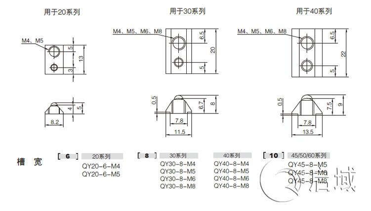 QY-弹片螺母图纸