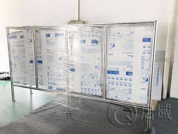 工业铝型材白板架