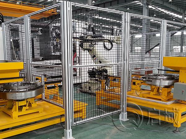 机器人安全防护栏